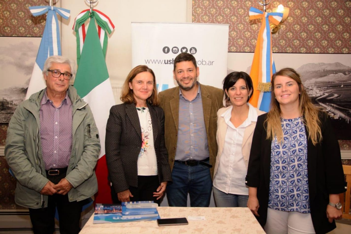 La municipalidad recibió a la directora del Instituto Italiano de Cultura