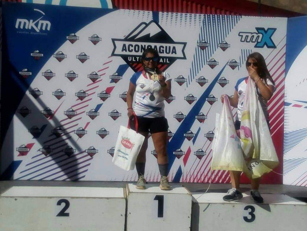 Georgina Badaracco atleta riograndense representando a la provincia de Tierra de Tierra del Fuego.