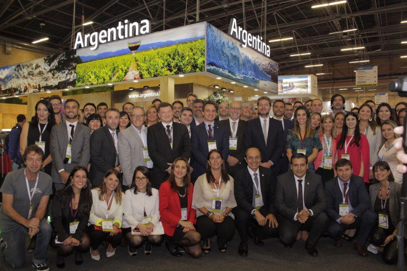 Ushuaia presente en la Feria Internacional de Turismo ANATO