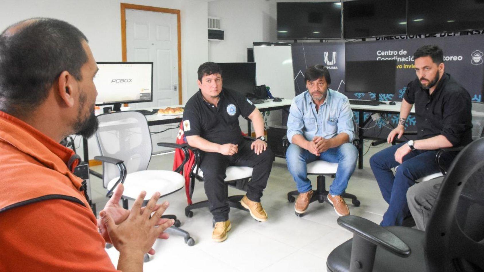 Se realizó el segundo encuentro de Defensa Civil de Ushuaia, Tolhuin y Río Grande