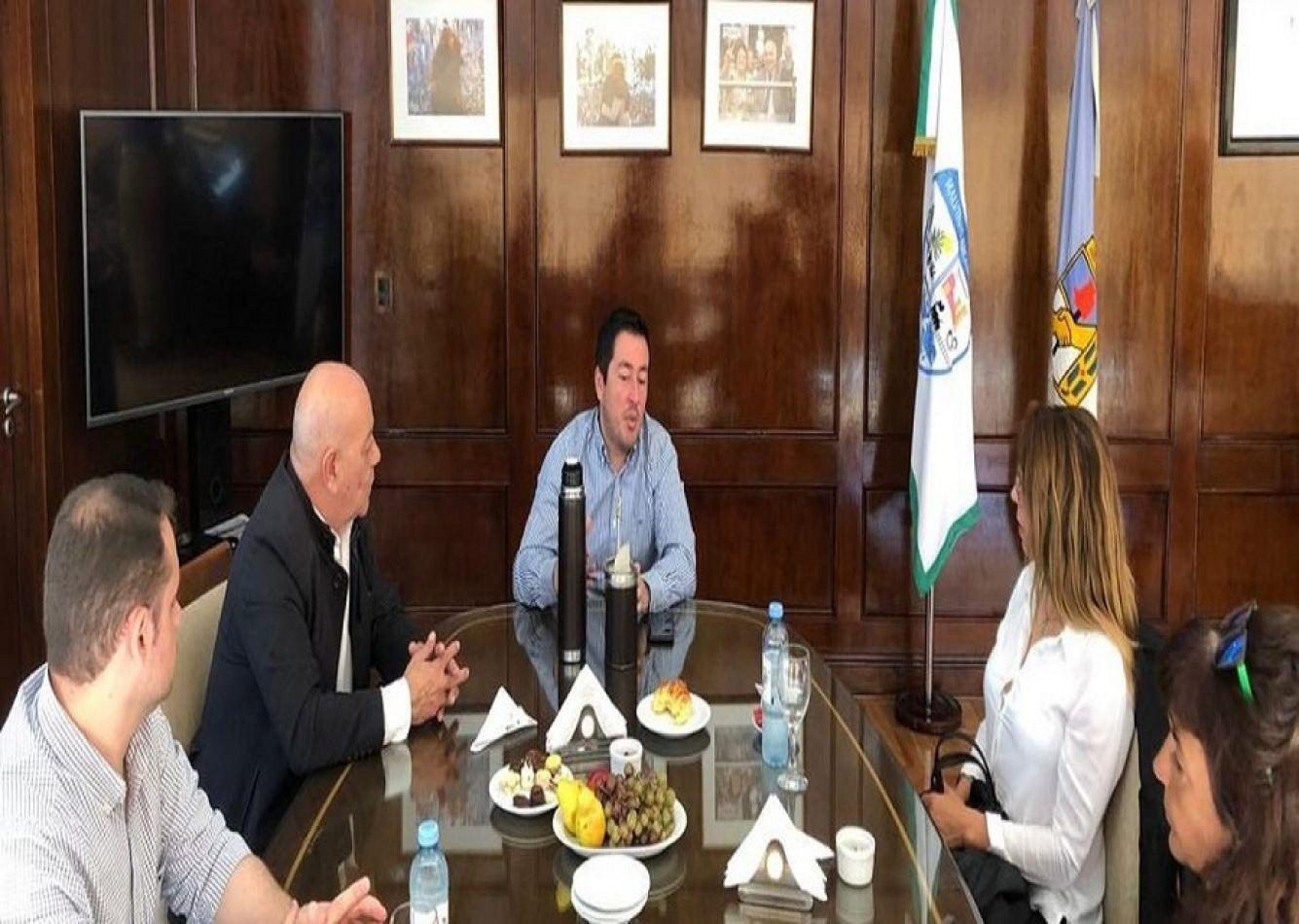 El Secretario Hugo Romero se reunió con el Intendente del partido Malvinas Argentinas