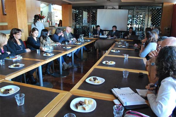 La reunión se realizó en la ciudad de Ushuaia.