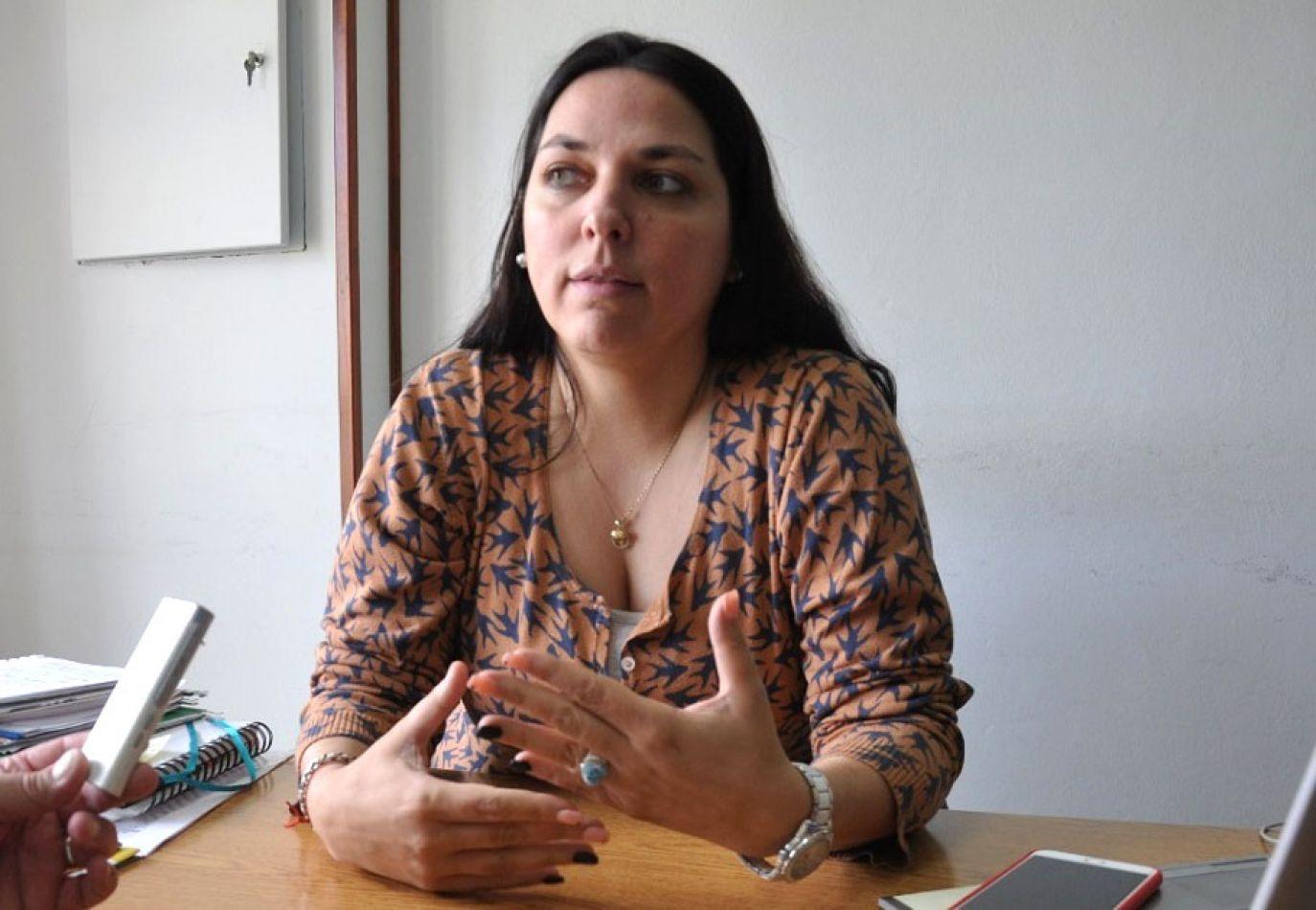 Nancy Jodurcha, secretaria de Gobierno del Muinicipio de Tolhuin.