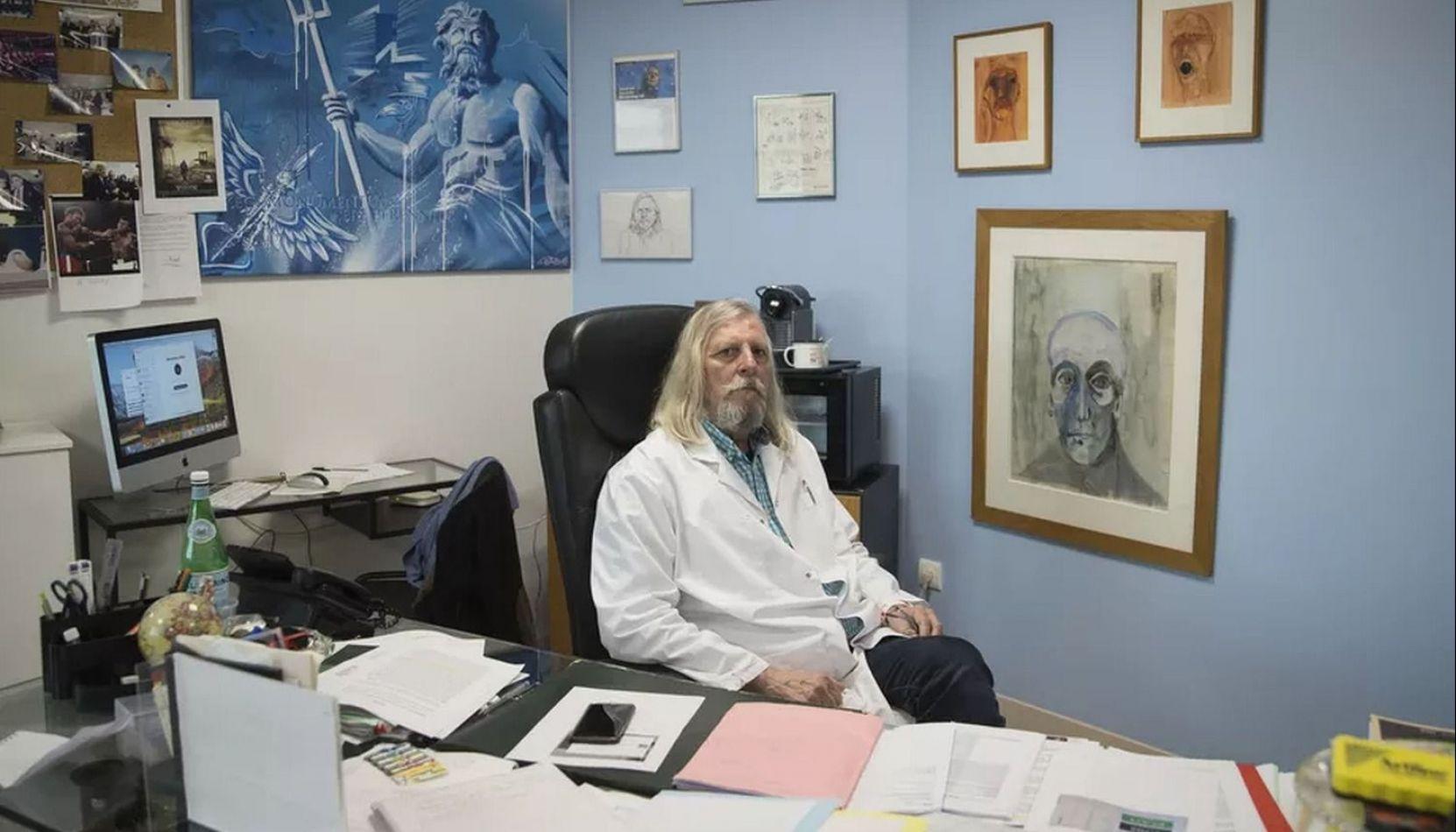Didier Raoult, el infectólogo francés que afirma haber hallado un tratamiento efectivo contra el coronavirus.