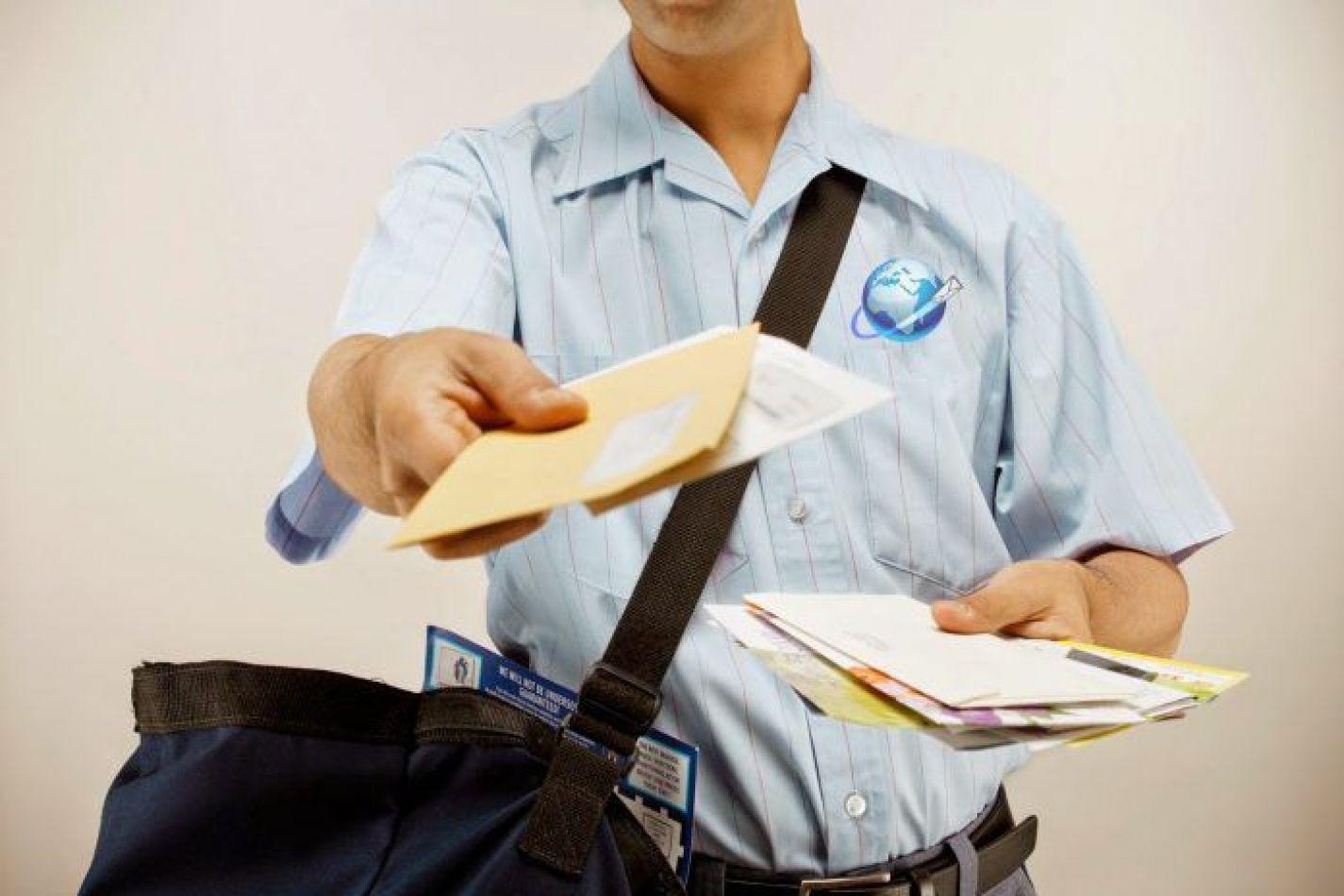 Los envíos a través del servicio postal no requerirán la firma del destinatario