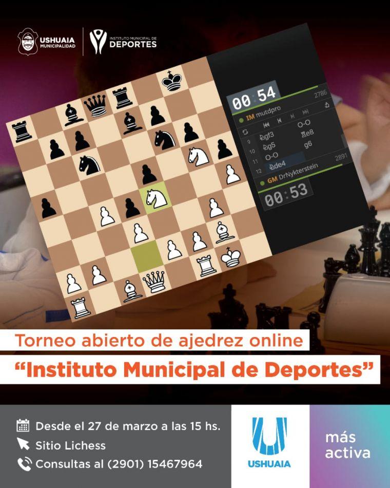 Propuesta on line desde el Instituto Municipal de Deporte de Ushuaia