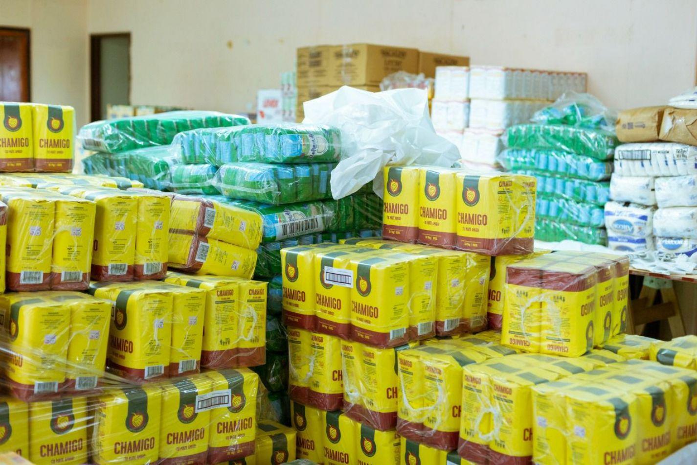Más de 4 mil módulos alimentarios  entregados a familias de estudiantes que asisten a comedores
