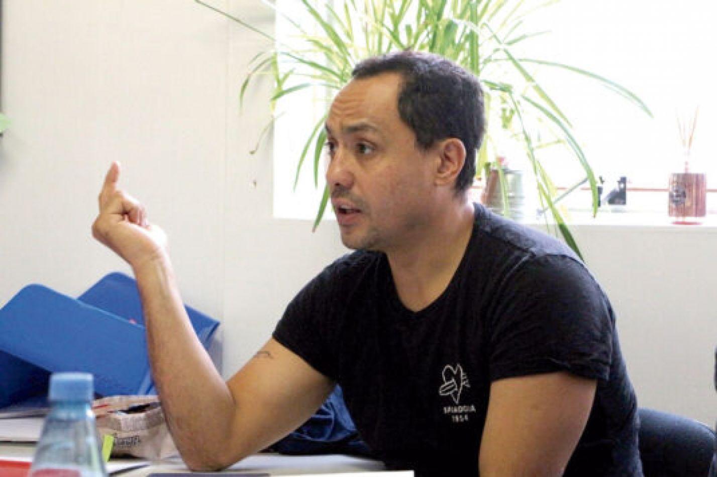 Secretario de Deportes y Juventud Carlos Turdó