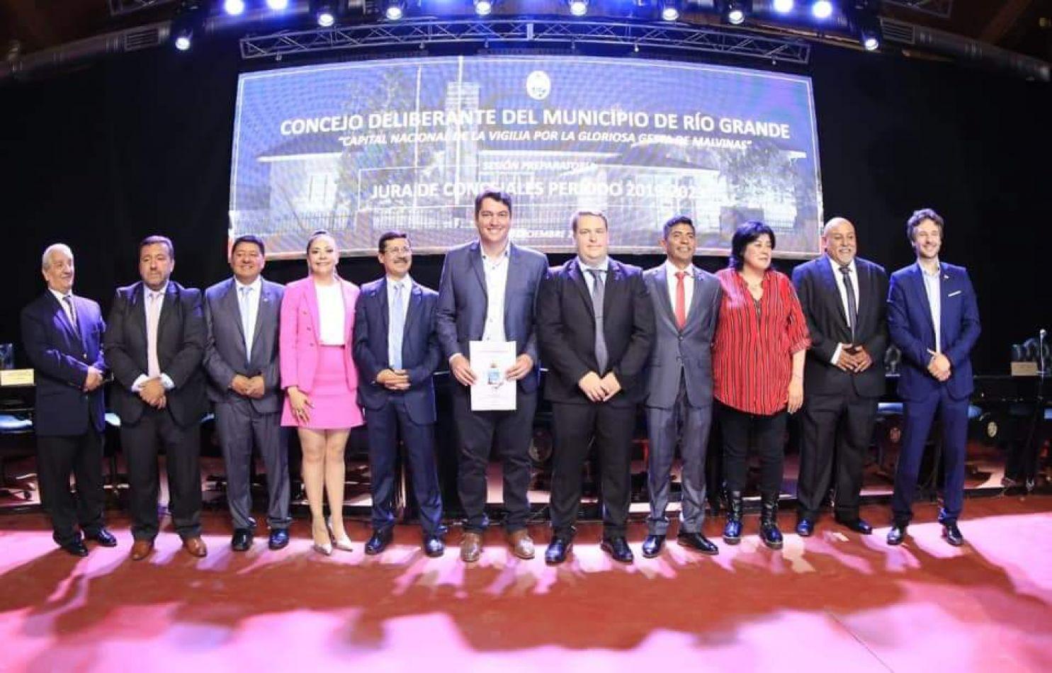 Cuerpo de concejales del Concejo Deliberante de Río Grande