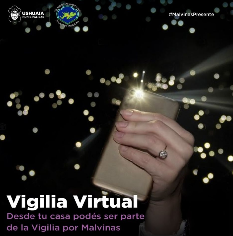 La municipalidad organiza una vigilia virtual por Malvinas el 2 de abril