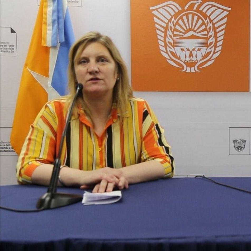 Ministra de Salud Judit Di Giglio