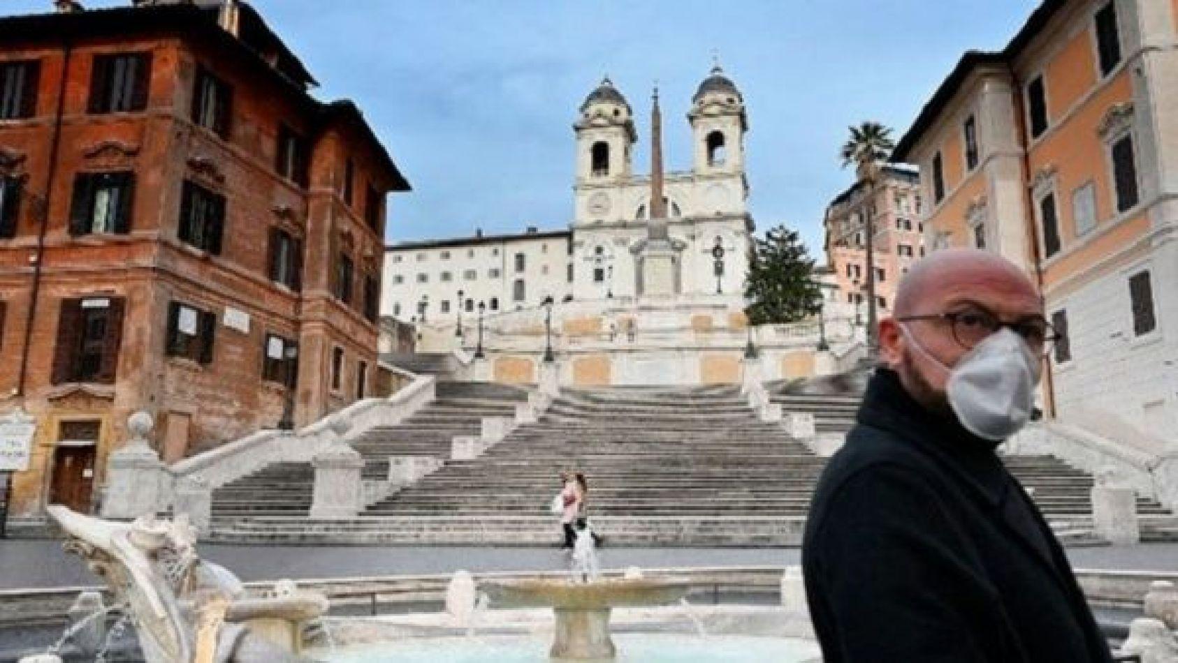 Coronavirus en Italia: El virus queda en el aire más tiempo del que se creía