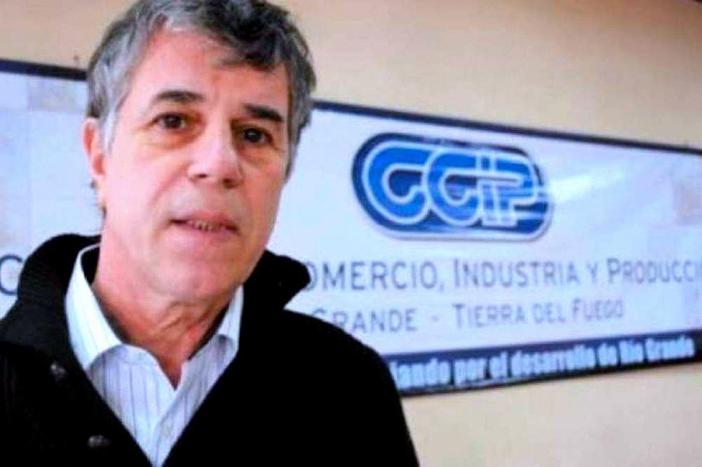 José Luis Iglesias, presidente de la Cámara de Comercio de Río Grande.