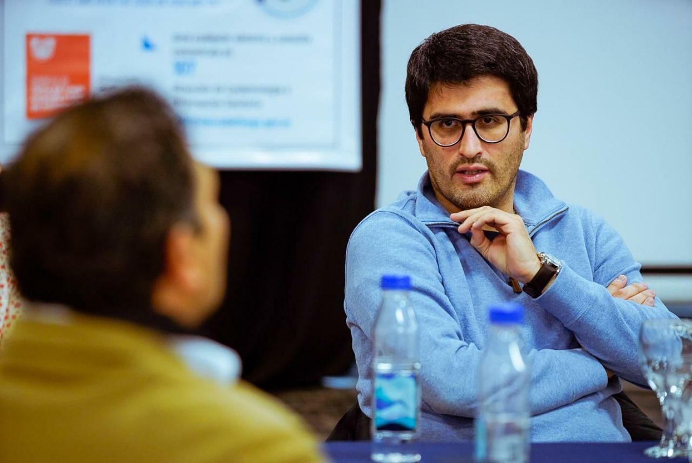 Director Ejecutivo de la Agencia de Recaudación Fueguina, Oscar Bahamonde.