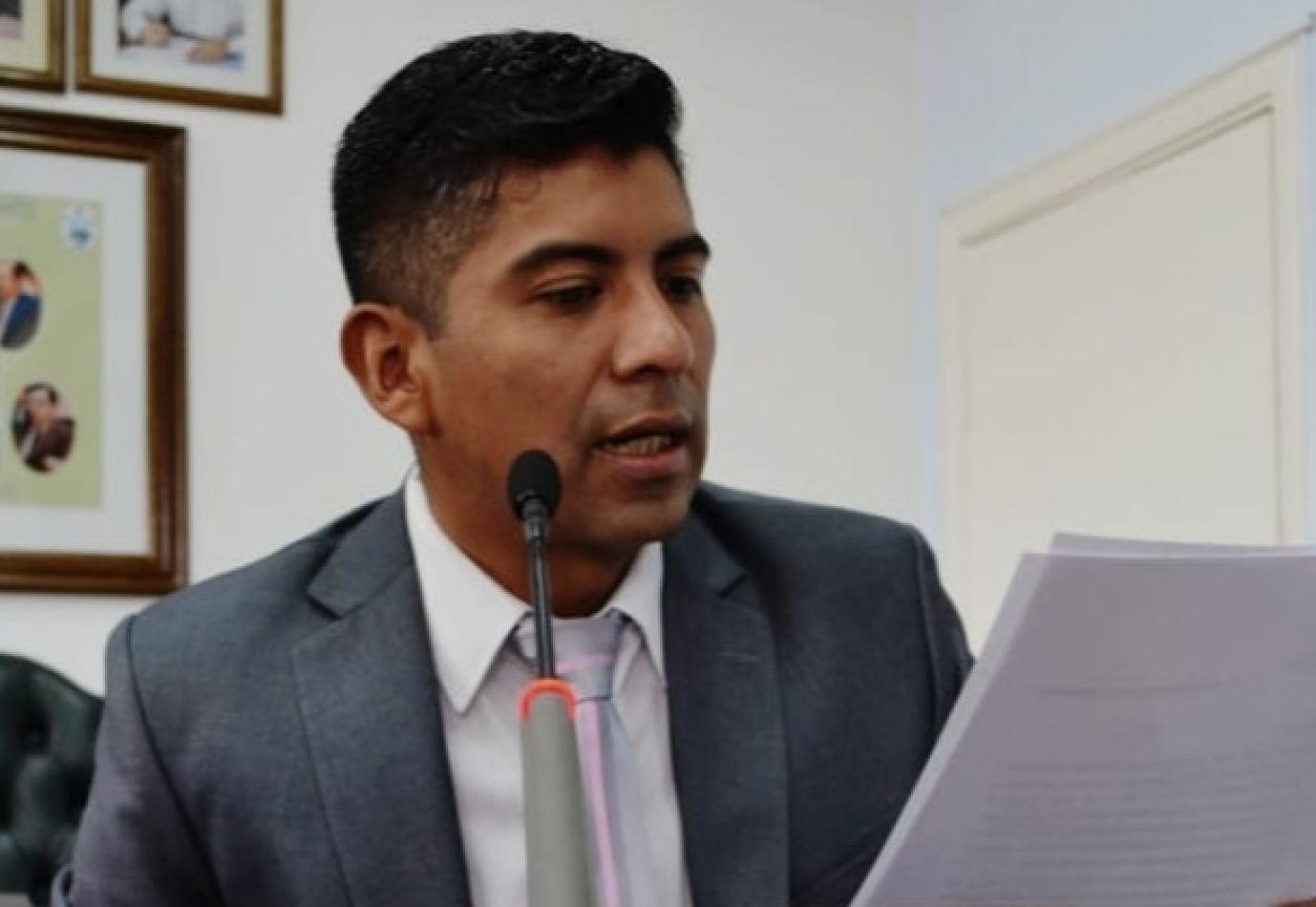 Javier Calisaya, concejal de Río Grande.