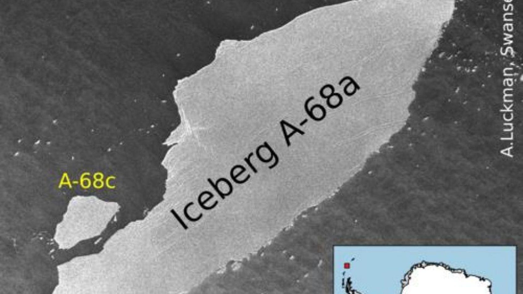 Iceberg A-68C.