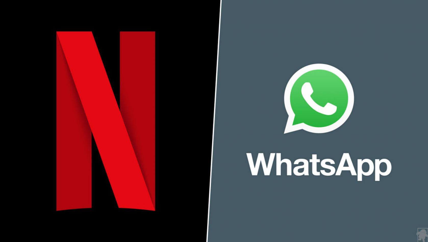 La unión de Netflix y WhatsApp: cómo hacer para ponerlo en funcionamiento