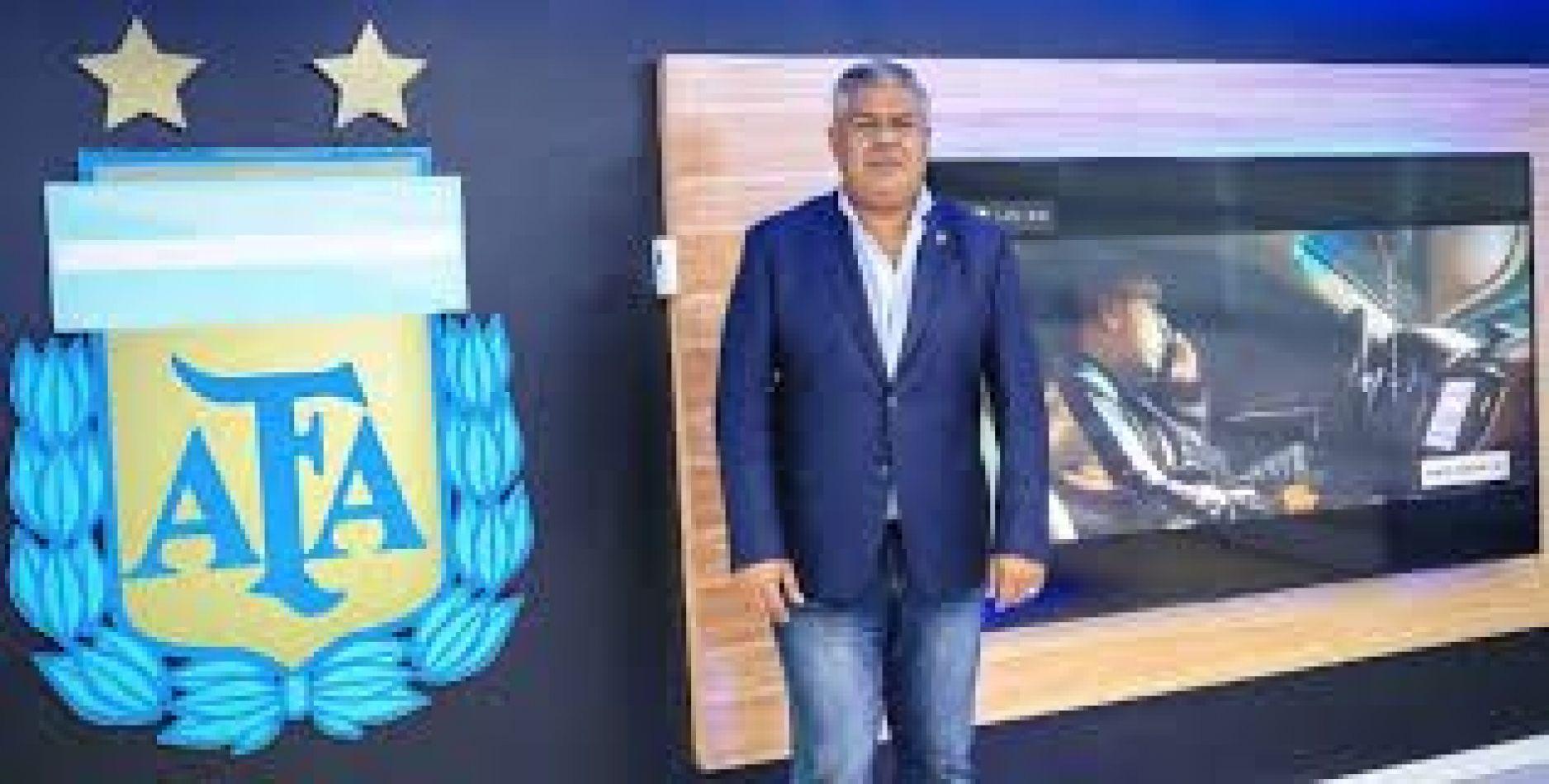 """Claudio """"Chiqui"""" Tapia resultó reelecto hasta 2025 como presidente de la Asociación del Fútbol Argentino (AFA)."""