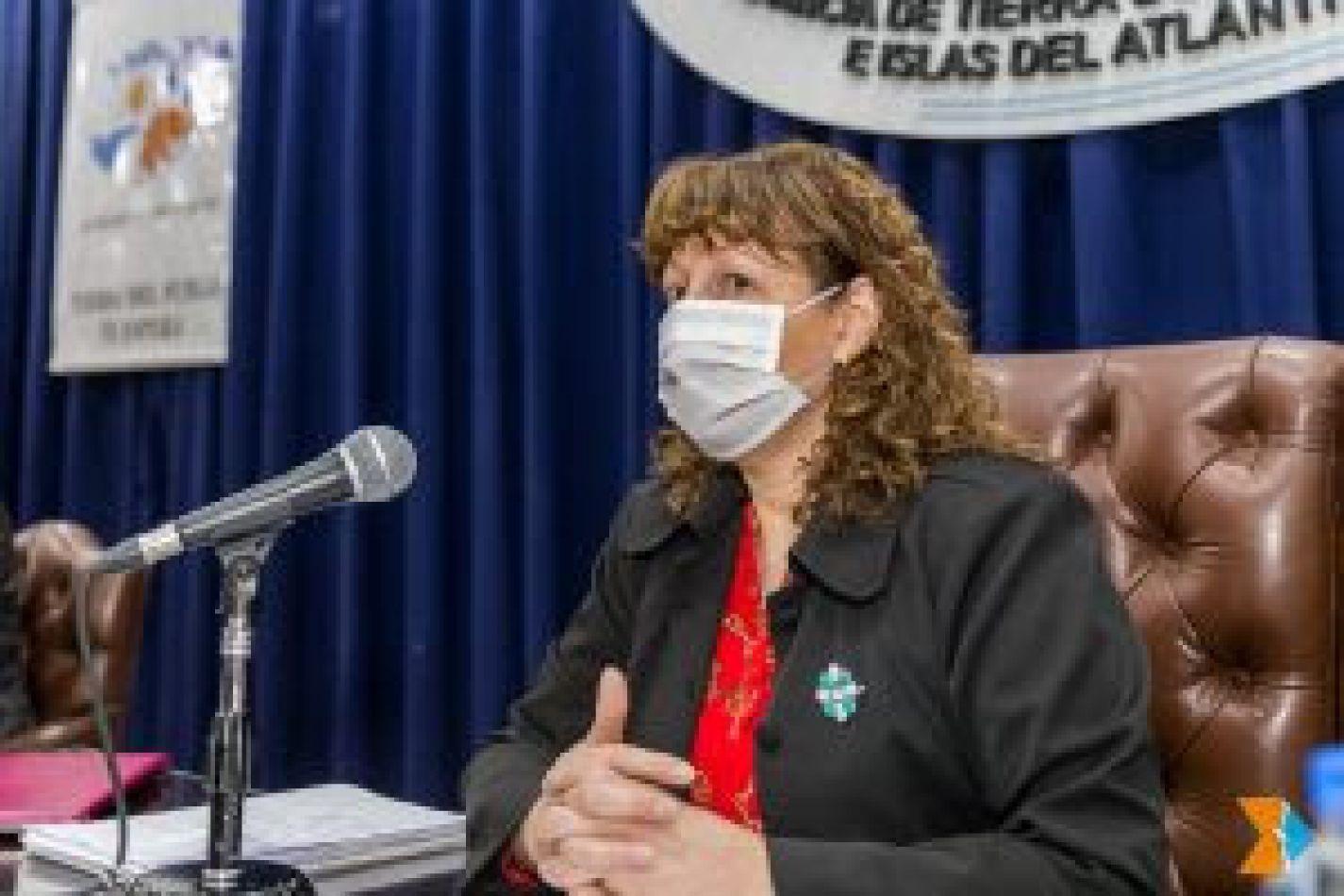 Vicegobernadora de la provincia de Tierra del Fuego, Mónica Urquiza