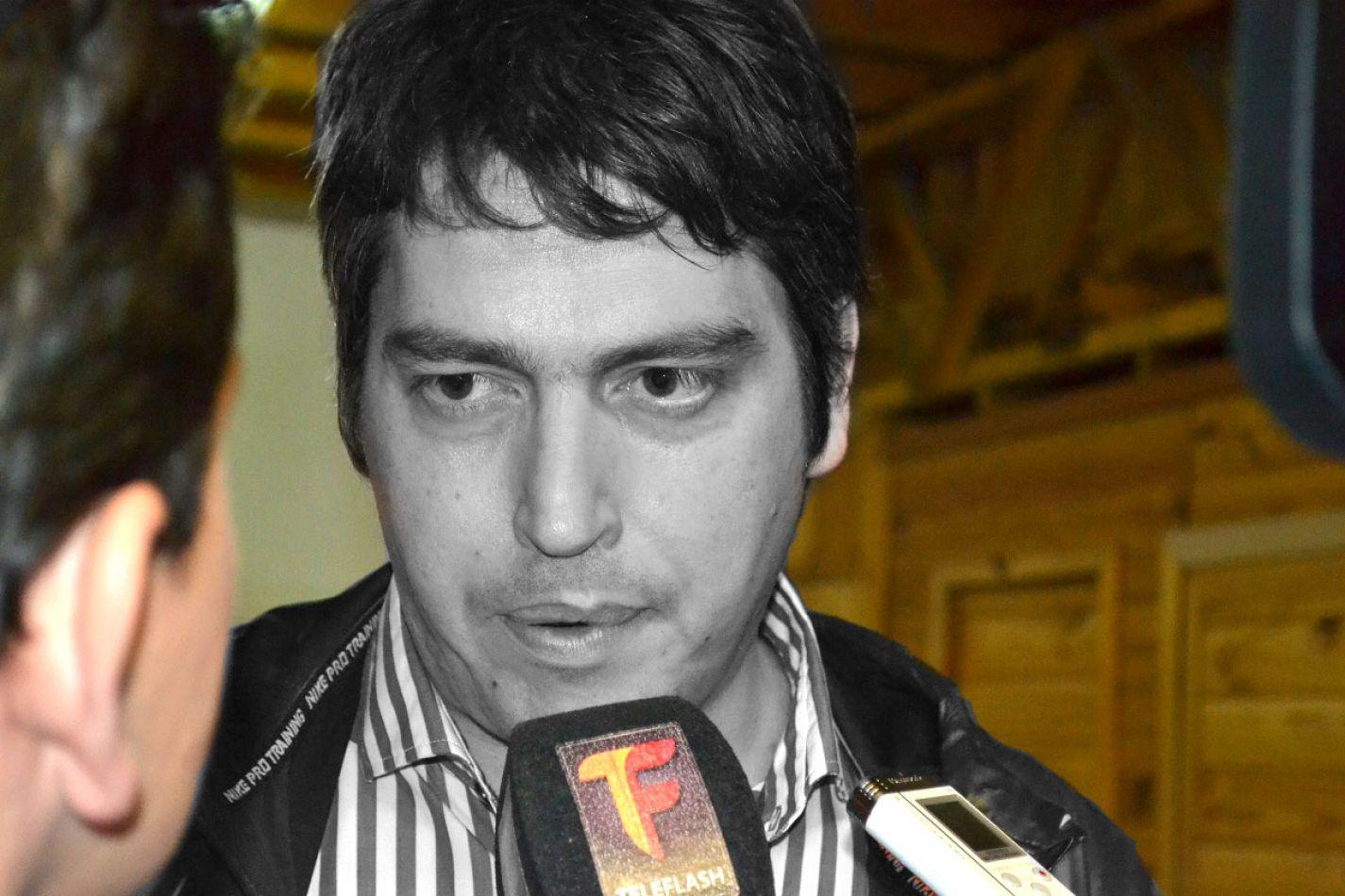 Martín Perez, intendente de la ciudad de Río Grande.