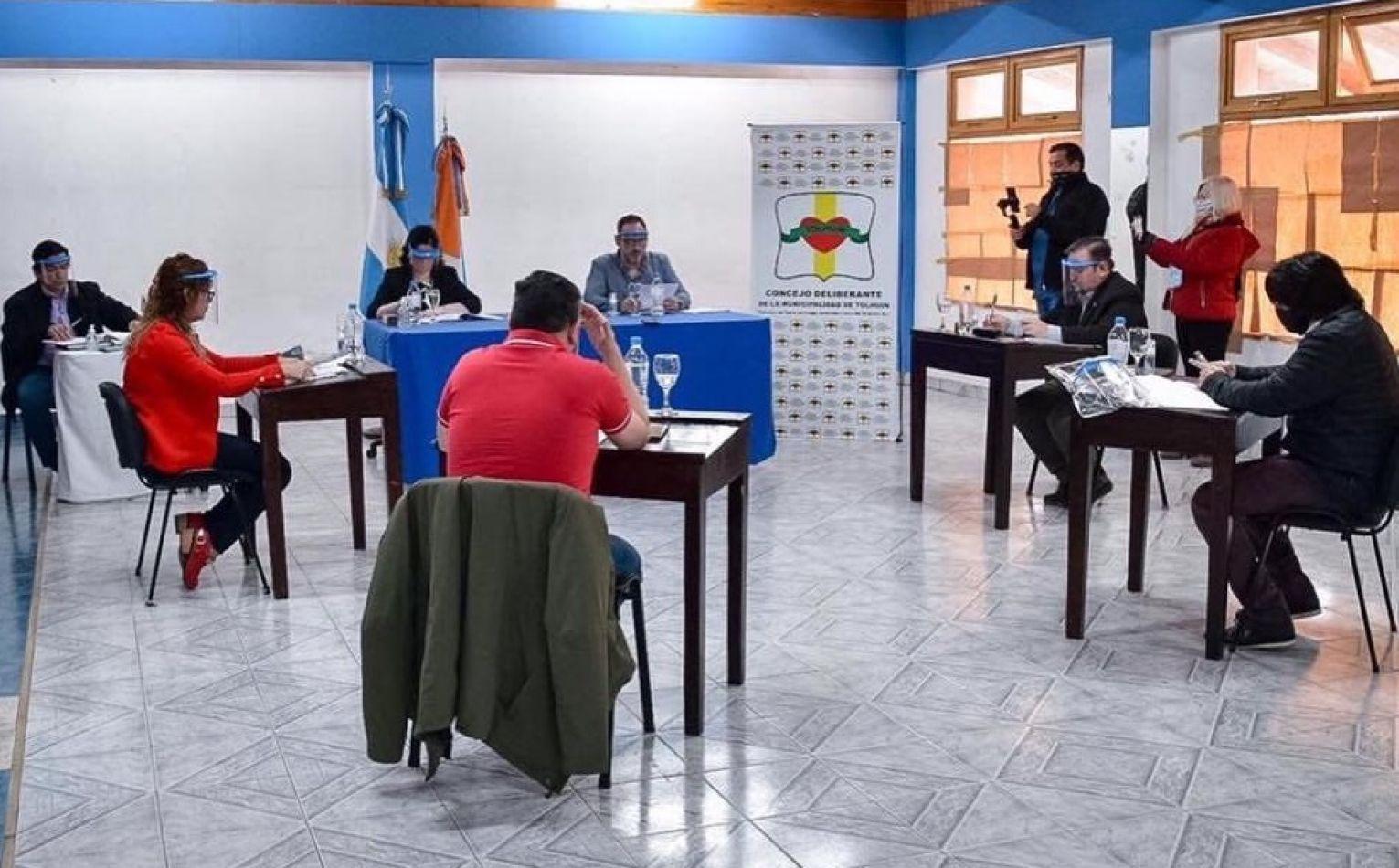 El Concejo Deliberante de Tolhuin sesionó de manera extraordinaria