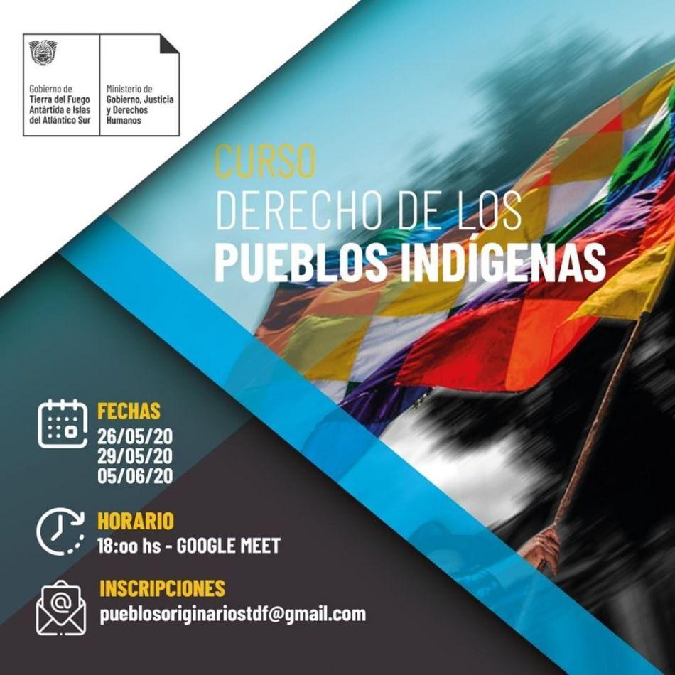 """Primera capacitación virtual sobre """"Derechos de los Pueblos Indígenas"""""""