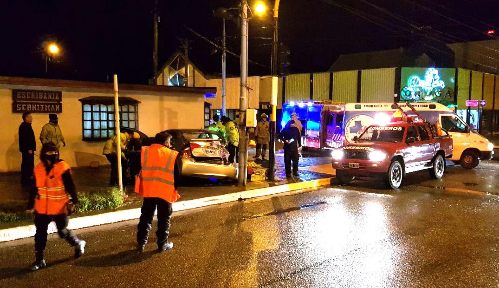 El incidente se registró en Perito Moreno y Rivadavia de Río Grande.