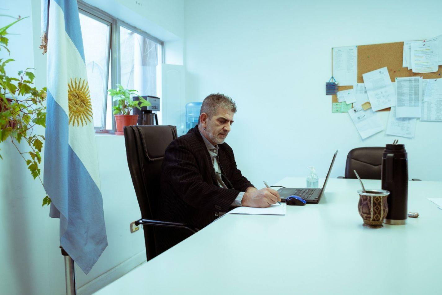 Secretario de Educación de la Provincia de Tierra del Fuego, Antártida e Islas del Atlántico Sur, Pablo López Silva.