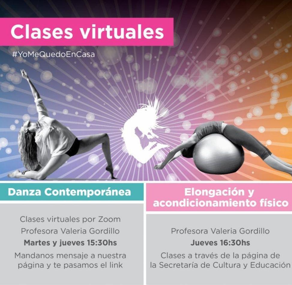 Secretaría de Cultura ofrece clases virtuales de danza, elongación y canto