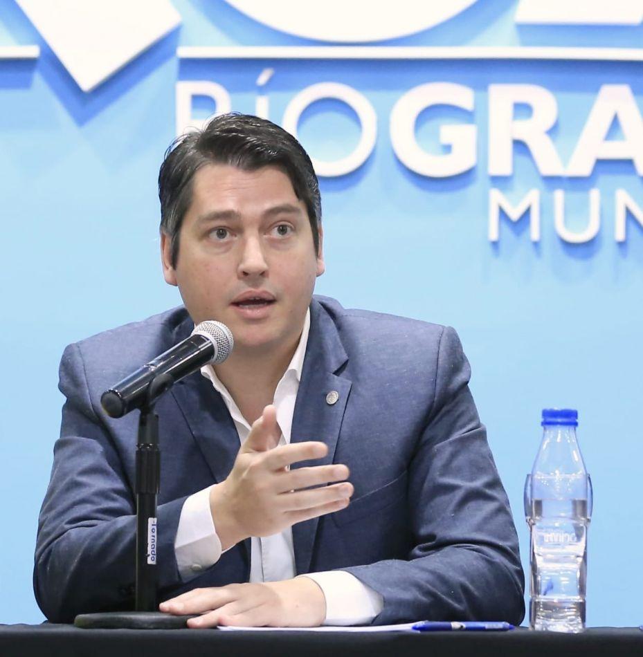 Intendente de la ciudad de Río Grande, Martín Perez