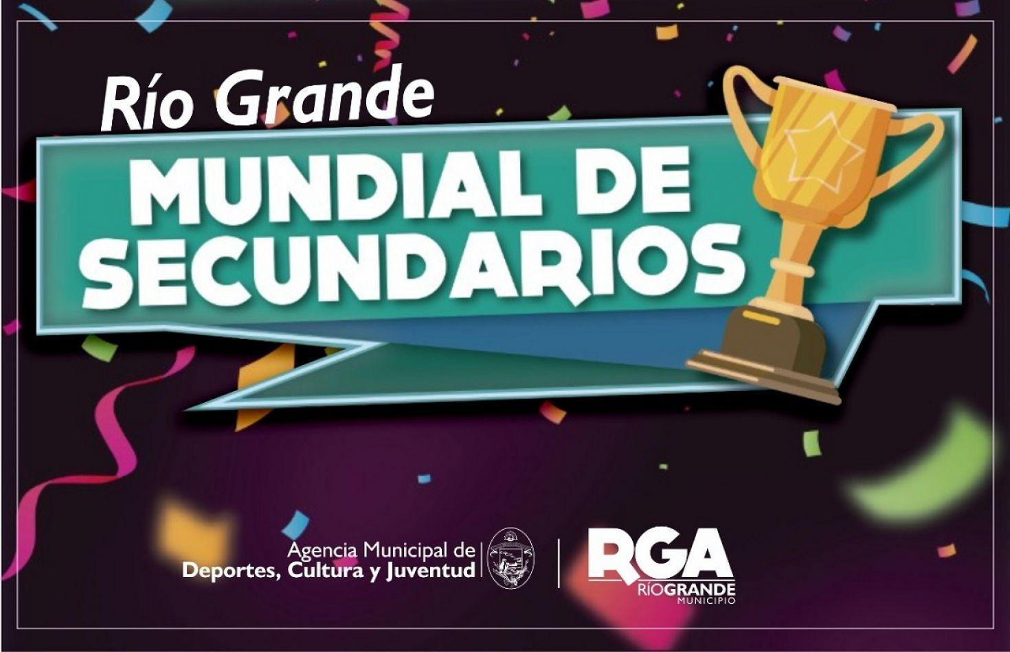 """Río Grande lanza la competencia intercolegial """"Mundial de Secundarios"""""""