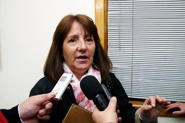 Presidente de Asociación de Taximetristas Unidos de Río Grande, Griselda Fuentes.