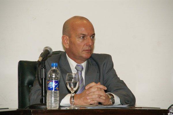 Concejal por la Unión Cívica Radical, Alfredo Guillén.