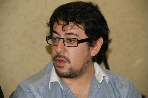 Concejal del Frente Para la Victoria, Héctor Garay.