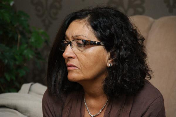 Legisladora por el Partido Justicialista, Susana Siracusa.