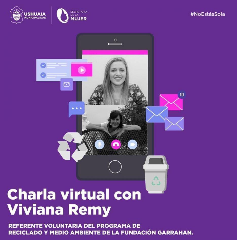 Charla virtual con Viviana Remy, referente voluntaria del Programa de Reciclado y Medio Ambiente de la Fundación Garrahan