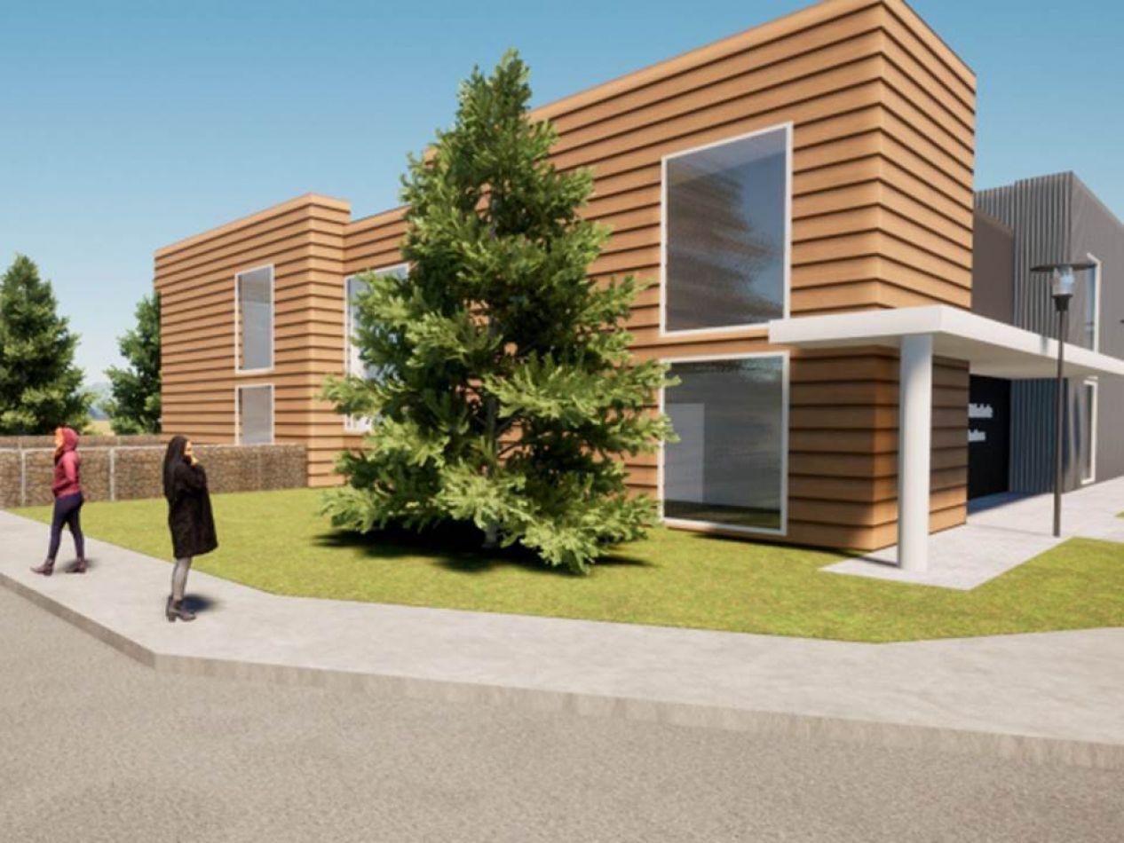 Preveén la construcción de un espacio multiuso en el barrio Dos Banderas