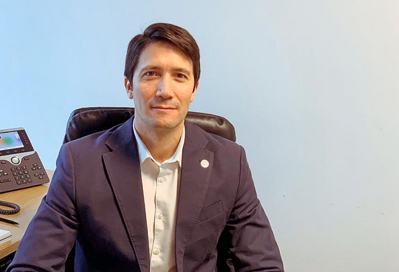 Director del Banco Tierra del Fuego, Juan Duarte .