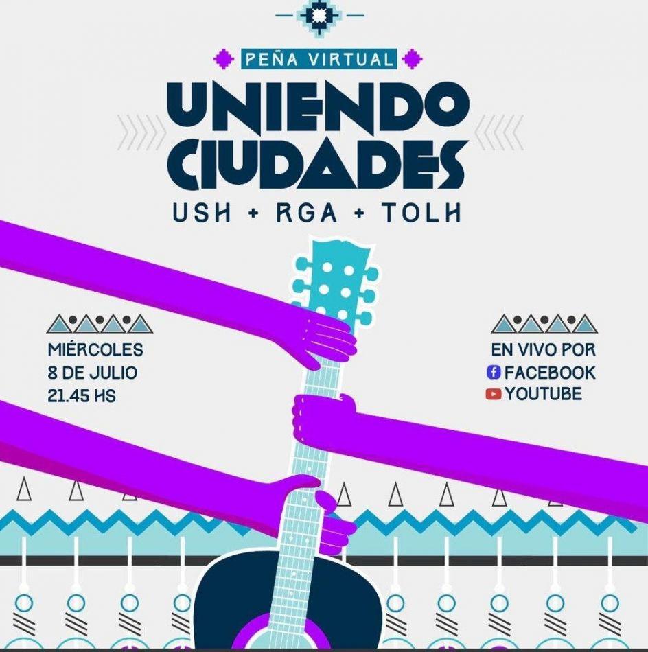 """Una gran peña unirá a las ciudades de Tierra del Fuego para festejar el """"Día de la Independencia"""""""