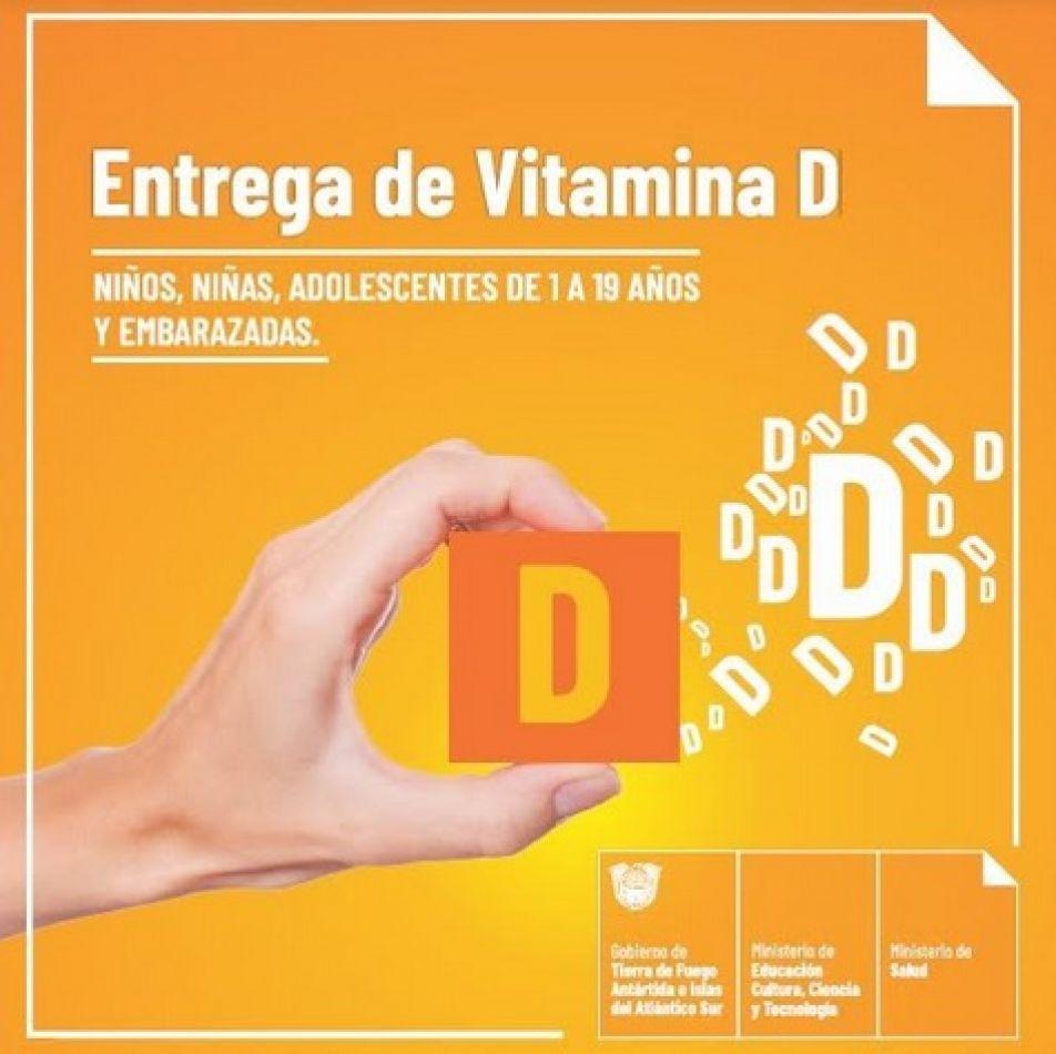 Salud entrega suplemento de vitamina D en toda la provincia