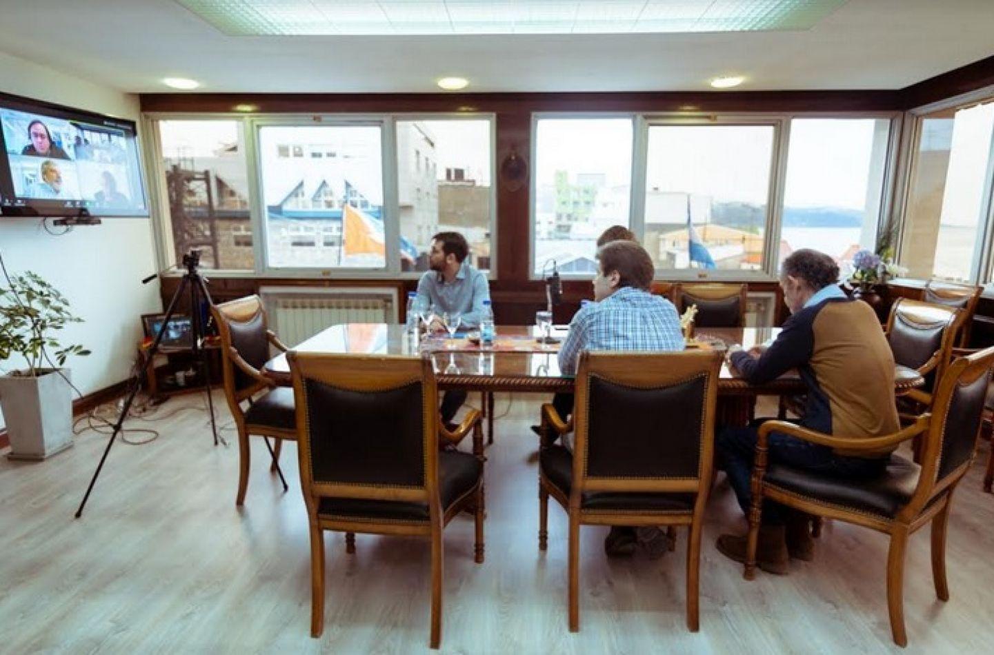 Gobierno y Nación coordinan trabajo conjunto para realizar obras