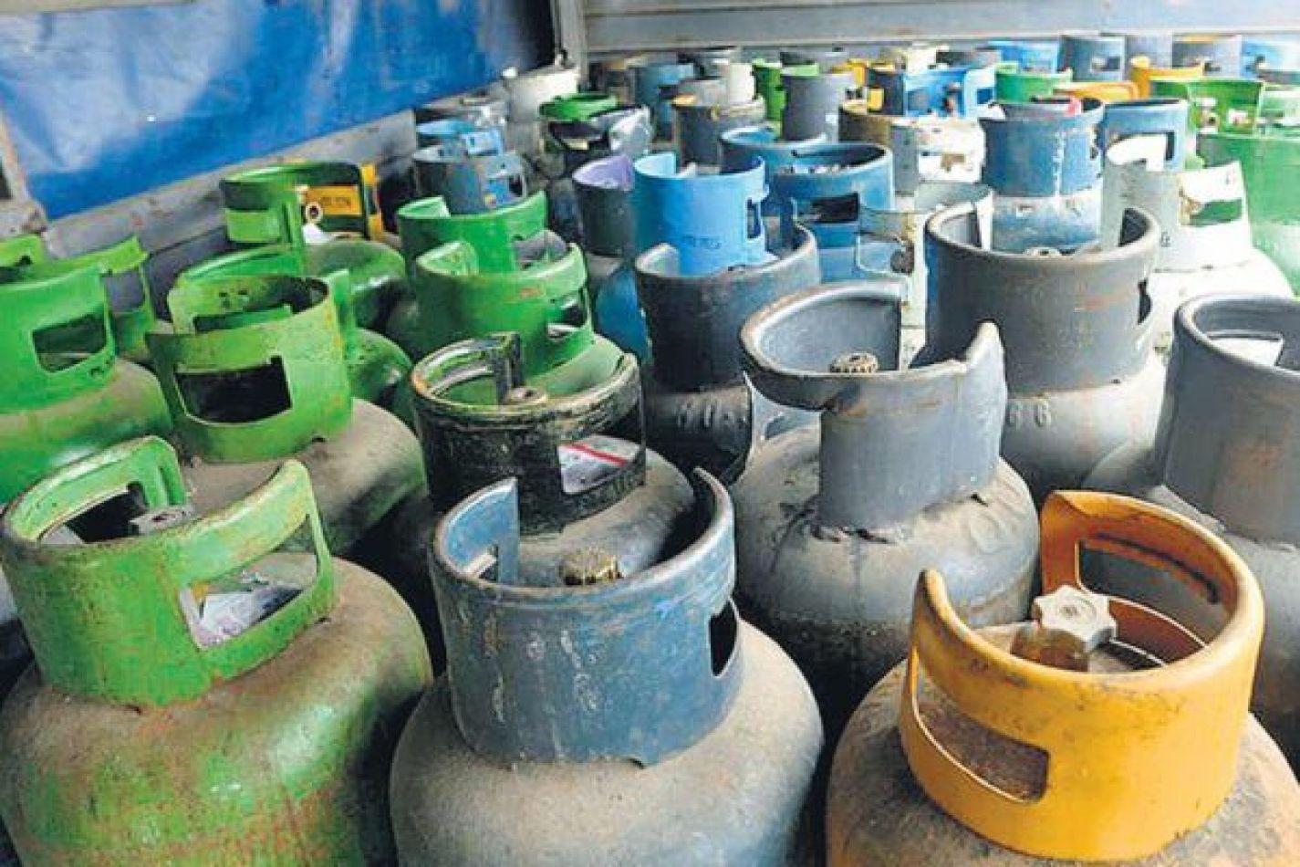 Se informa el cronograma de distribución de gas envasado y a granel