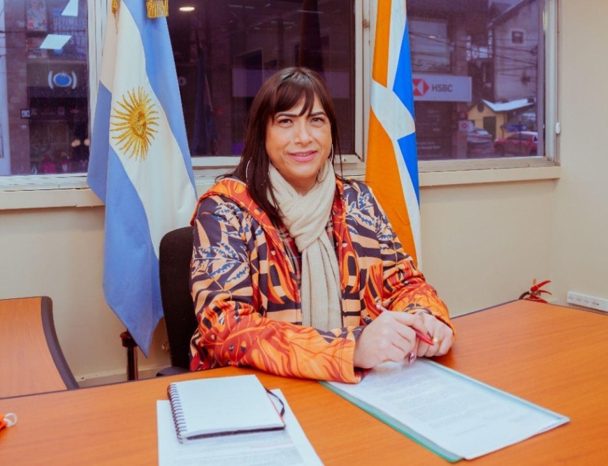 La Subsecretaria de Diversidad de la provincia, Victoria Castro.