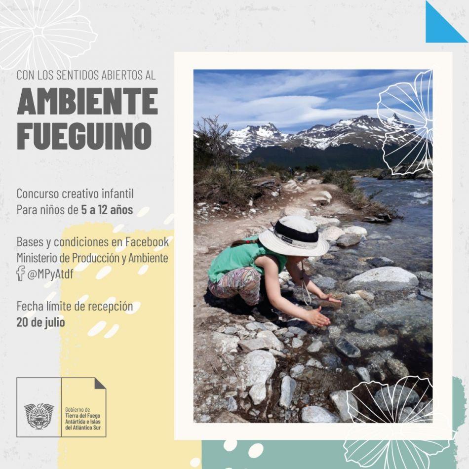 """Concurso creativo infantil """"Con los sentidos abiertos al ambiente fueguino"""""""
