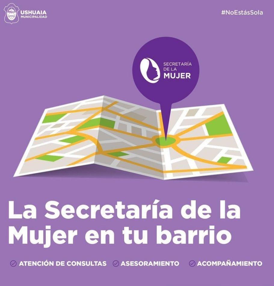 Secretaría de la Mujer lleva la atención a los barrios de la ciudad
