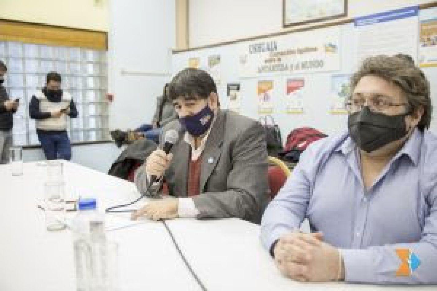 Legisladores abordaron con el Ministro de Trabajo la problemática de Textil Río Grande