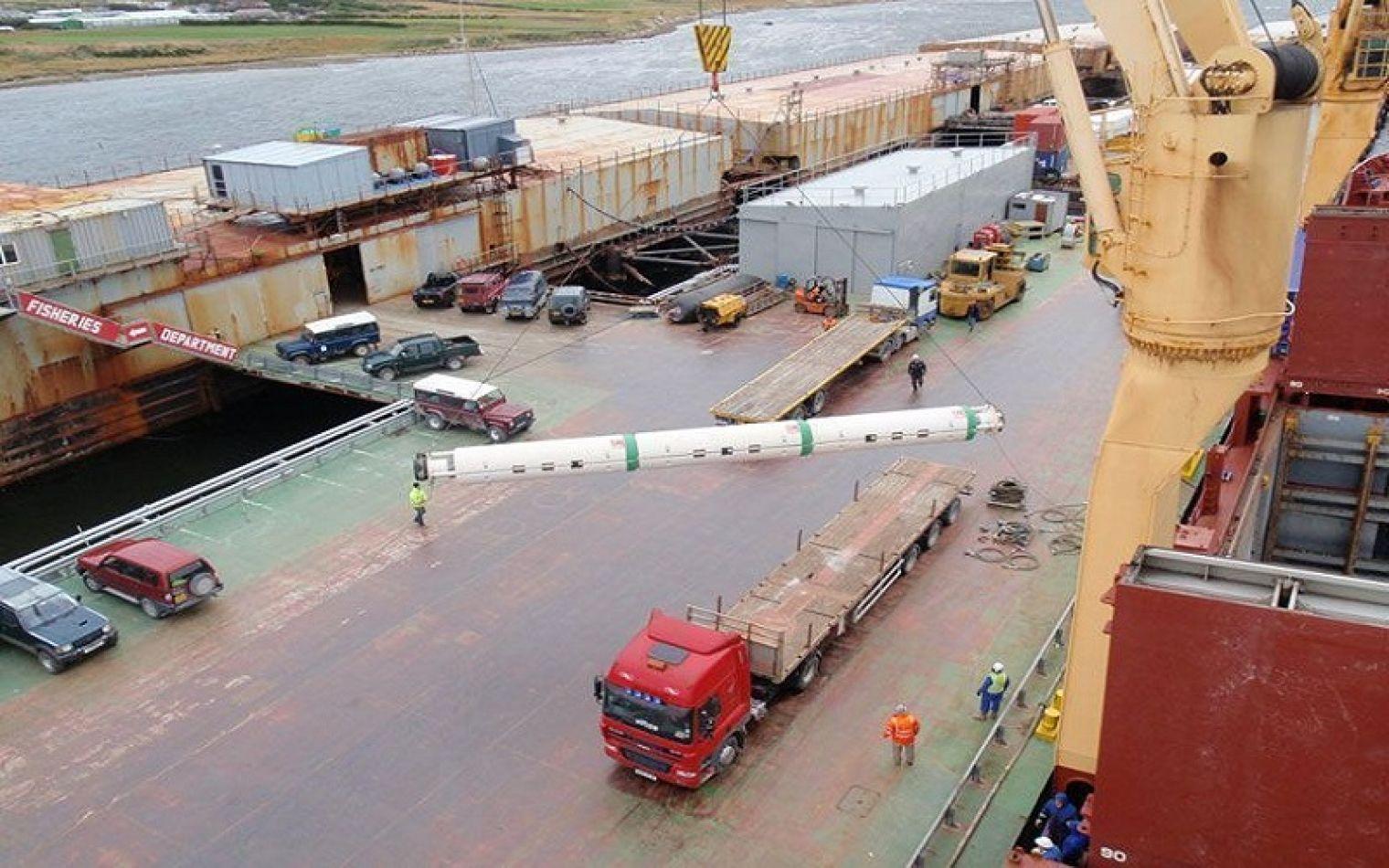 Las Islas Malvinas tendrá nuevo puerto