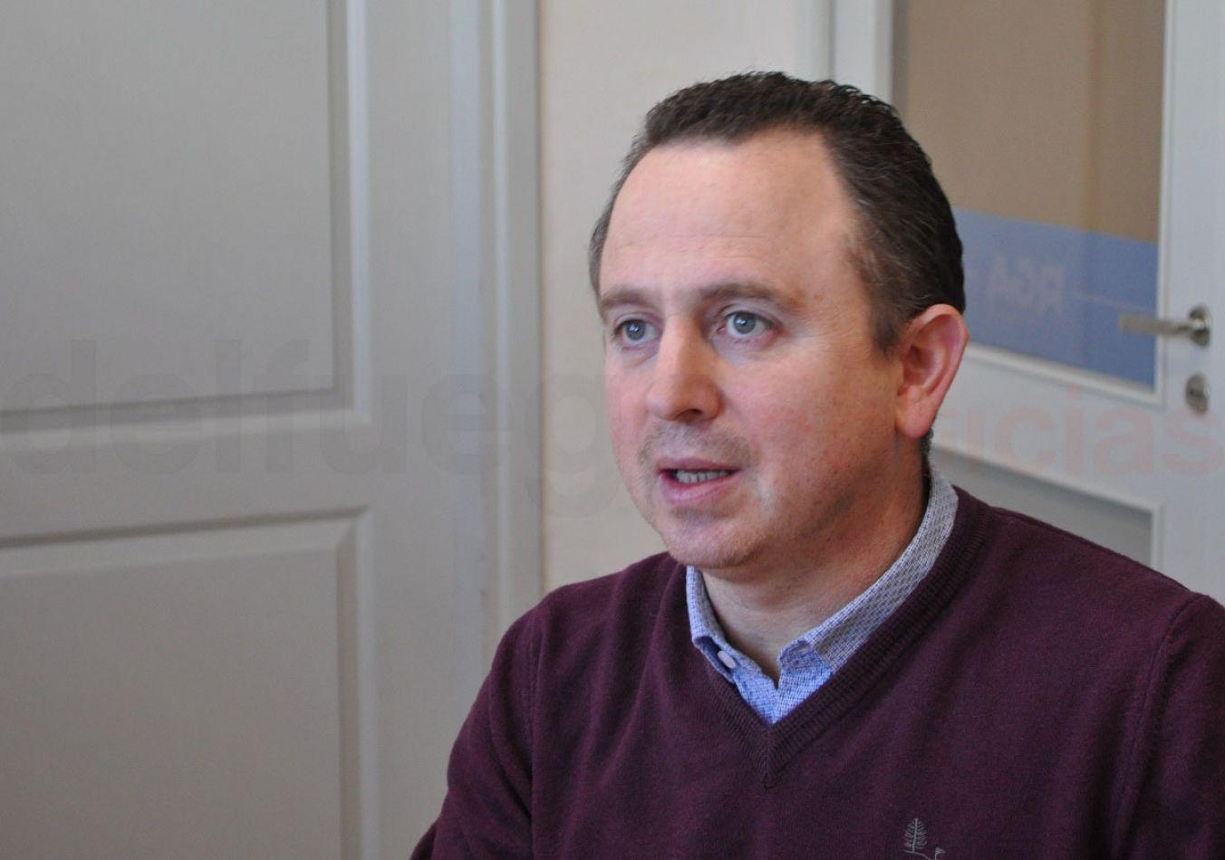 Gastón Díaz, secretario de Gobierno Municipal.