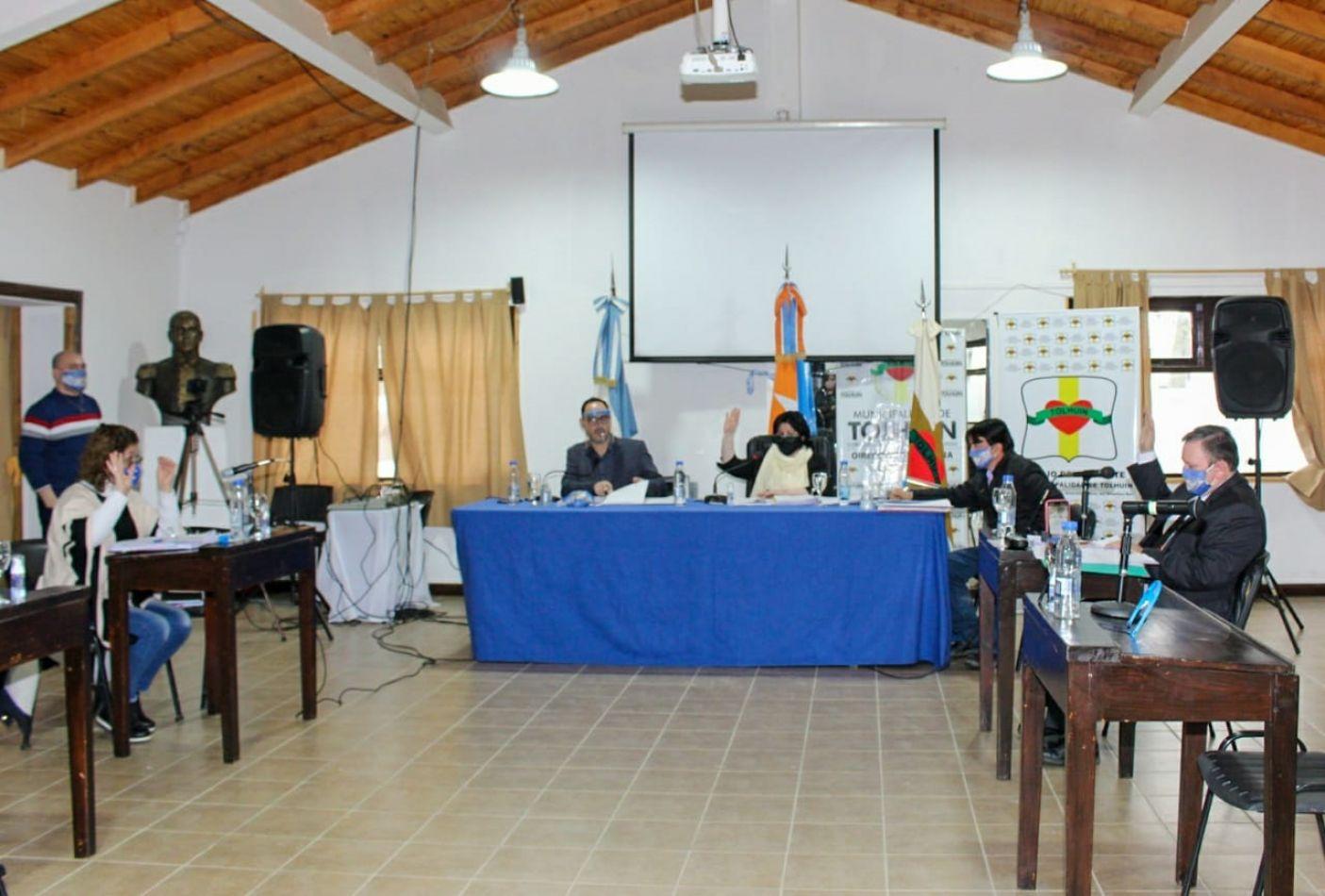 Sesionó el Concejo de Tolhuin con la presencia de 3 ediles.