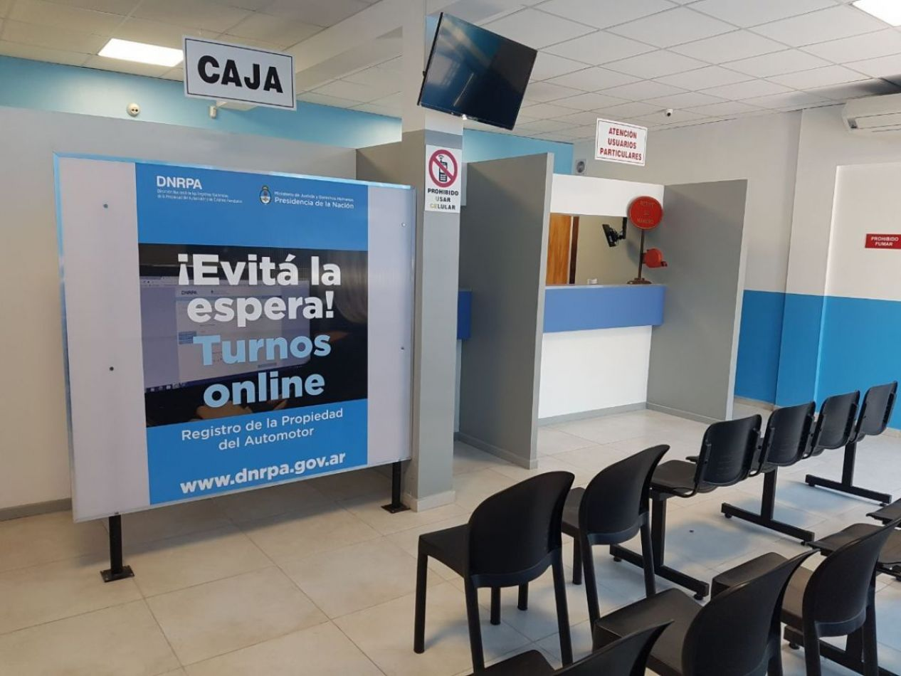 En Río Grande, no atenderán Registros del Automotor